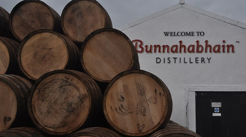 Bunnahabhain is a whisky distillery that appears in our whisky tour of Scotland - Scottish Spirit