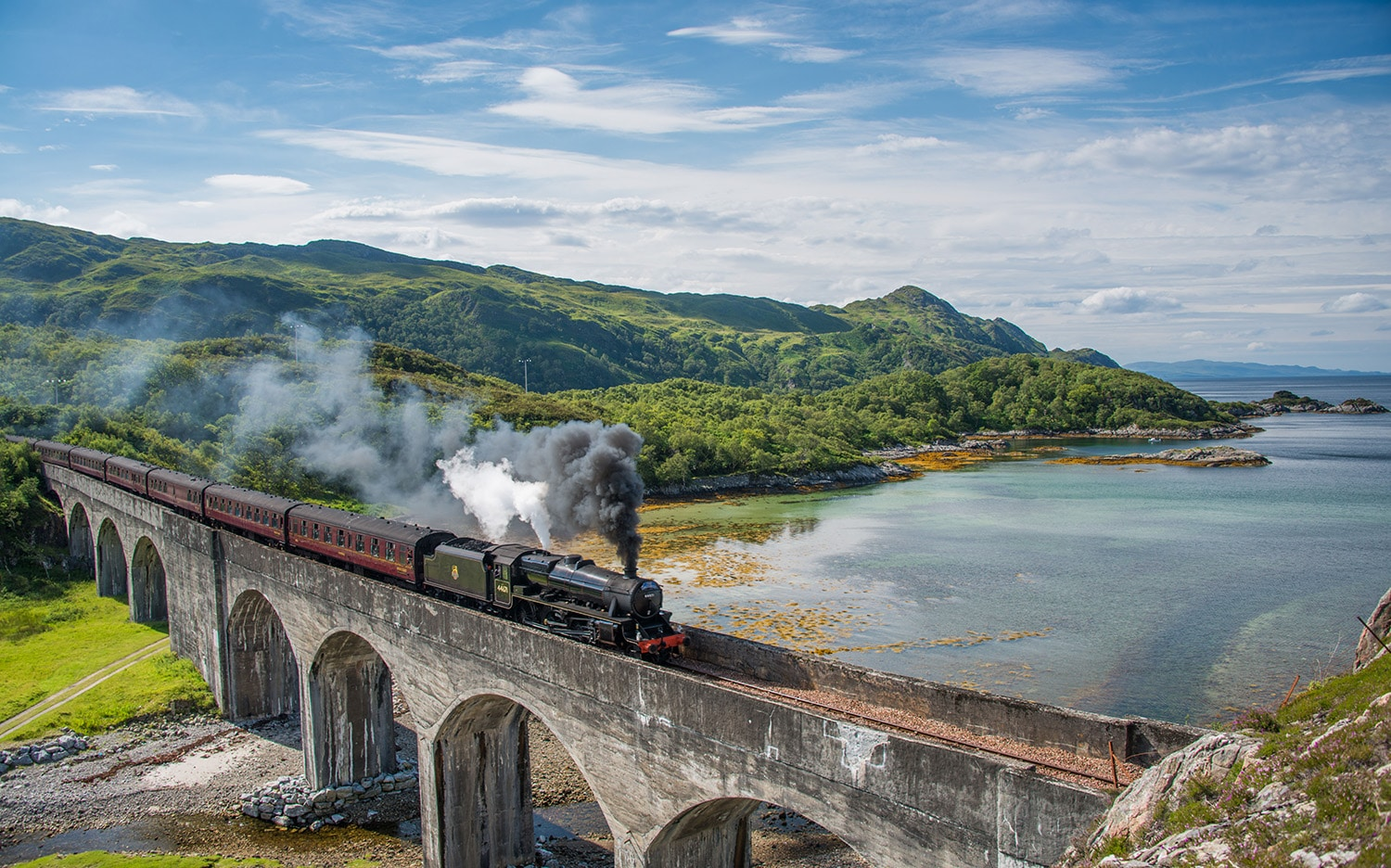 The Jocobite steam train, one of the many experiences on offer during a bespoke tour of Scotland