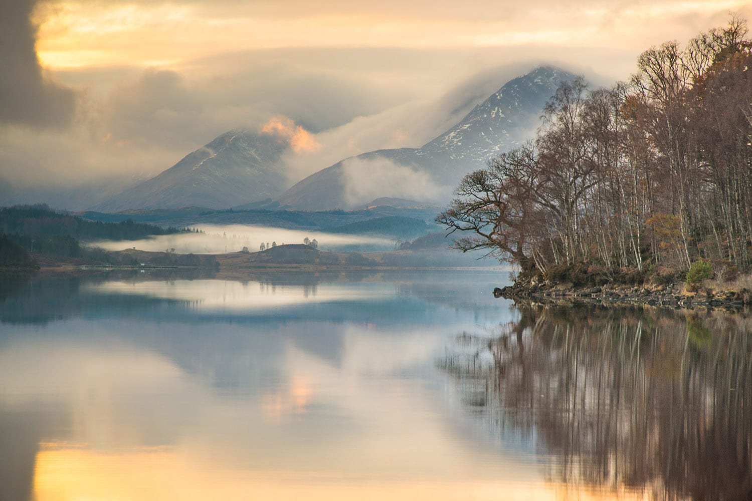 Lovely view of Loch Garry in Fort William which can be visited on our many tours of Scotland