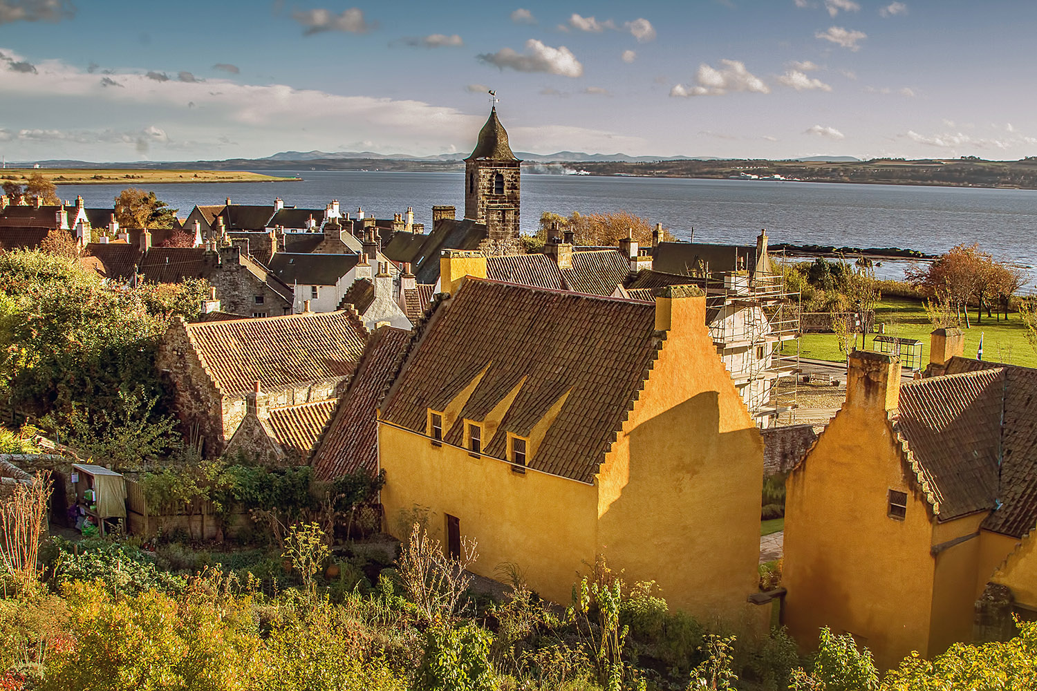 The lovely village of Culross, this 16th century village is visited in our Outlander tour