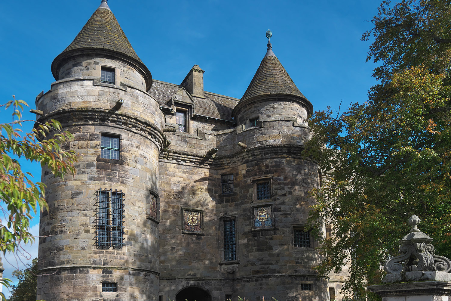 Falkland Palace in Fife features in our Outlander Adventurer tour