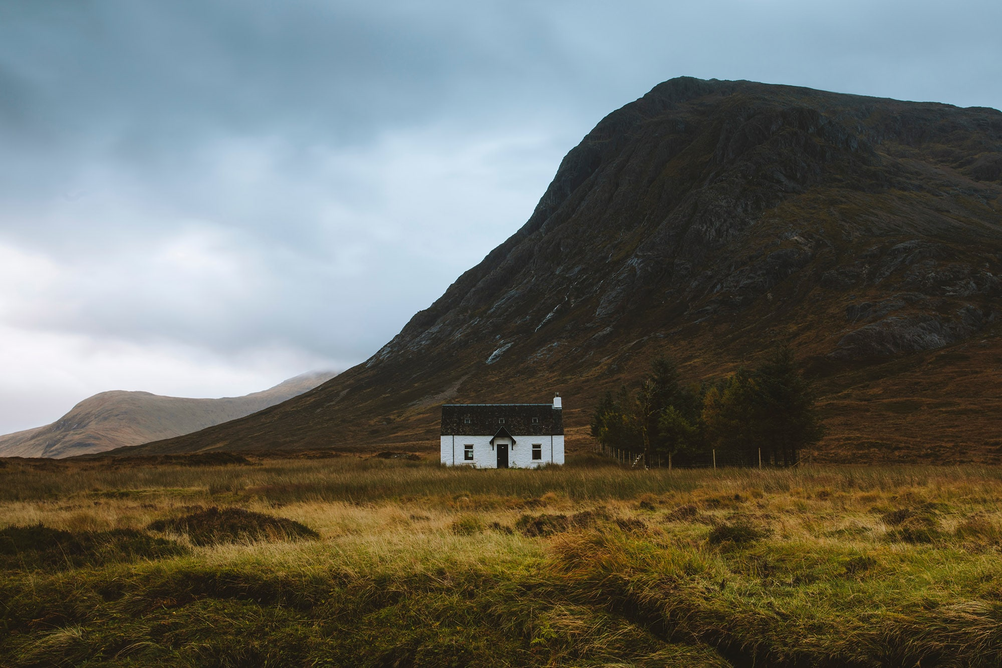 Blackrock Cottage in Glencoe, visit Blackrock and the Glencoe mountains on our Loch Ness Monster tour of Scotland