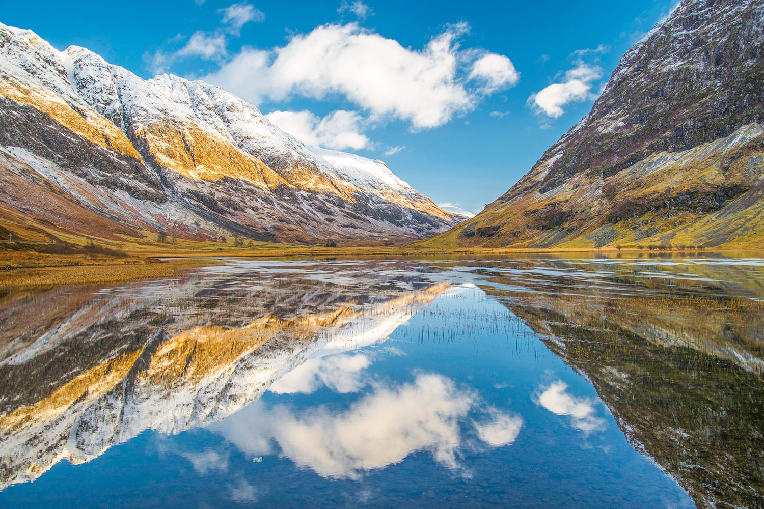 Visit the beautiful Glencoe Mountains on a private tour of Scotland