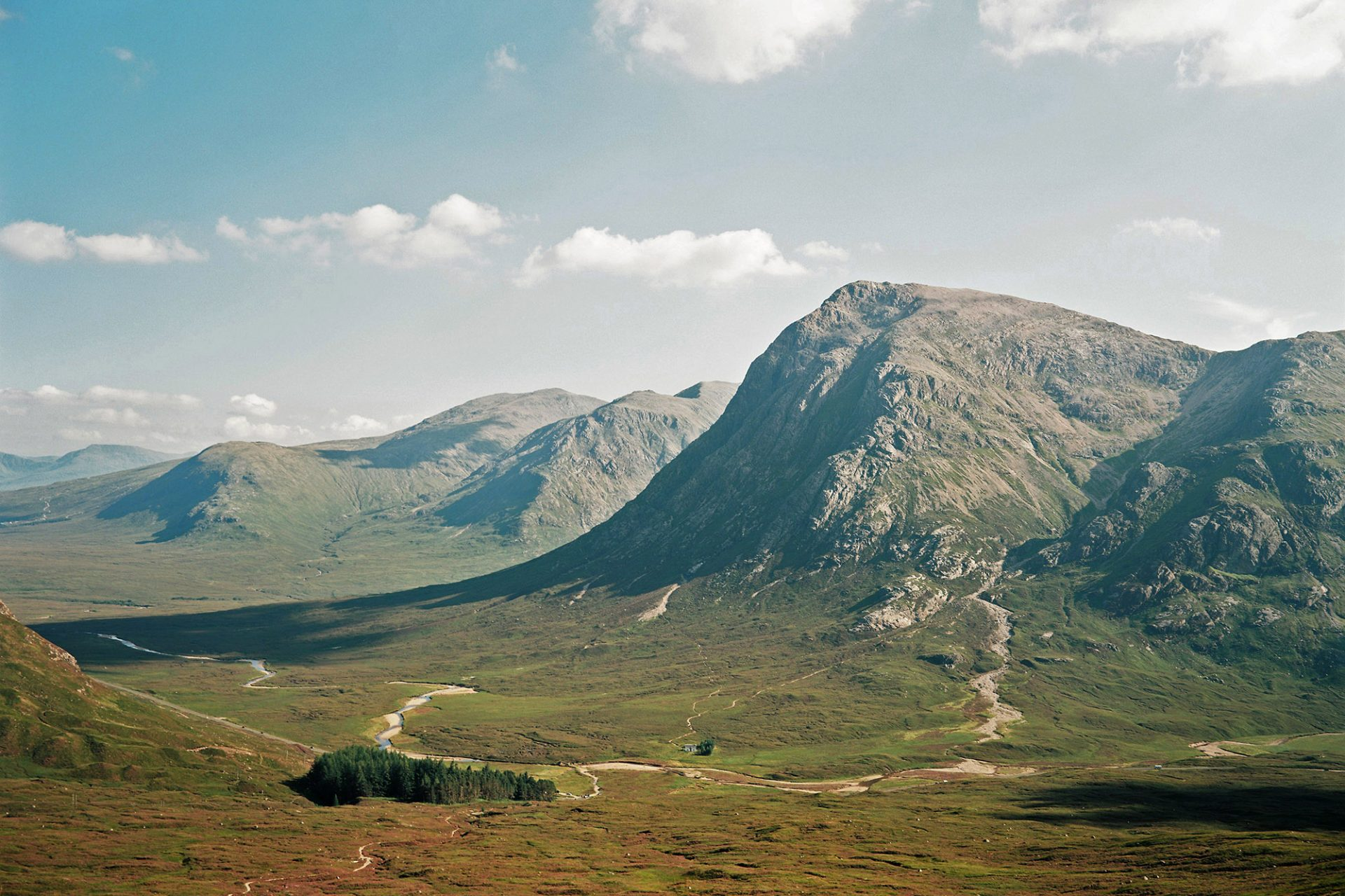 A view of Glencoe nature walk which is part of our tour of Scotland - The Adventurer