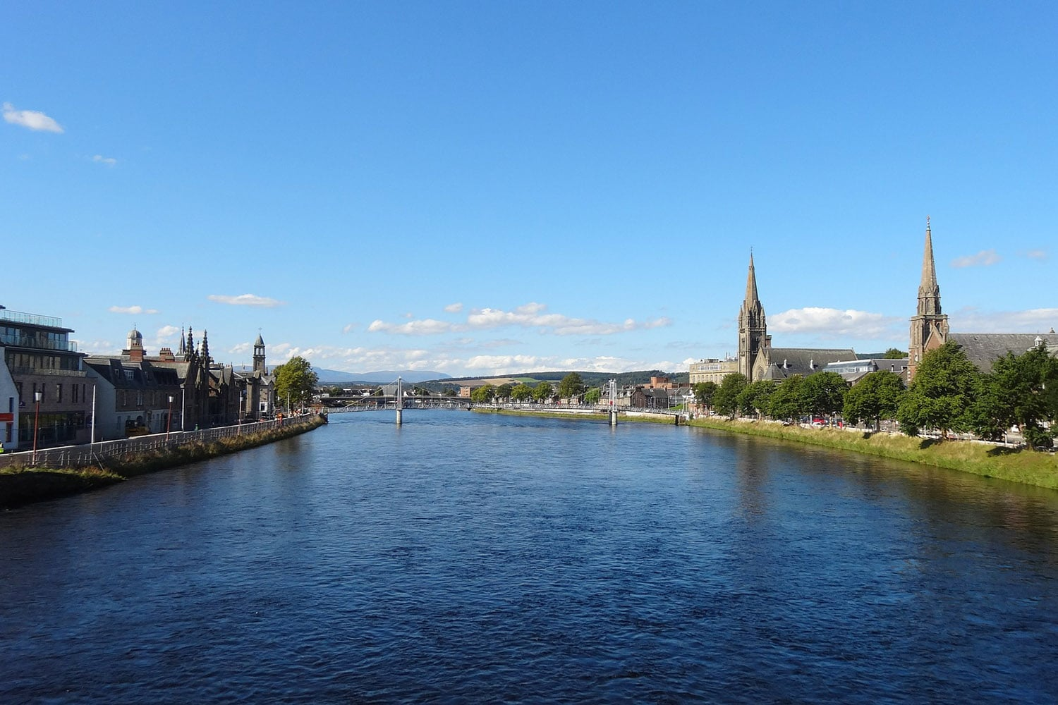 The city of Inverness on Scotland's northeast coast is featured in our two day tour of Scotland - The Adventurer