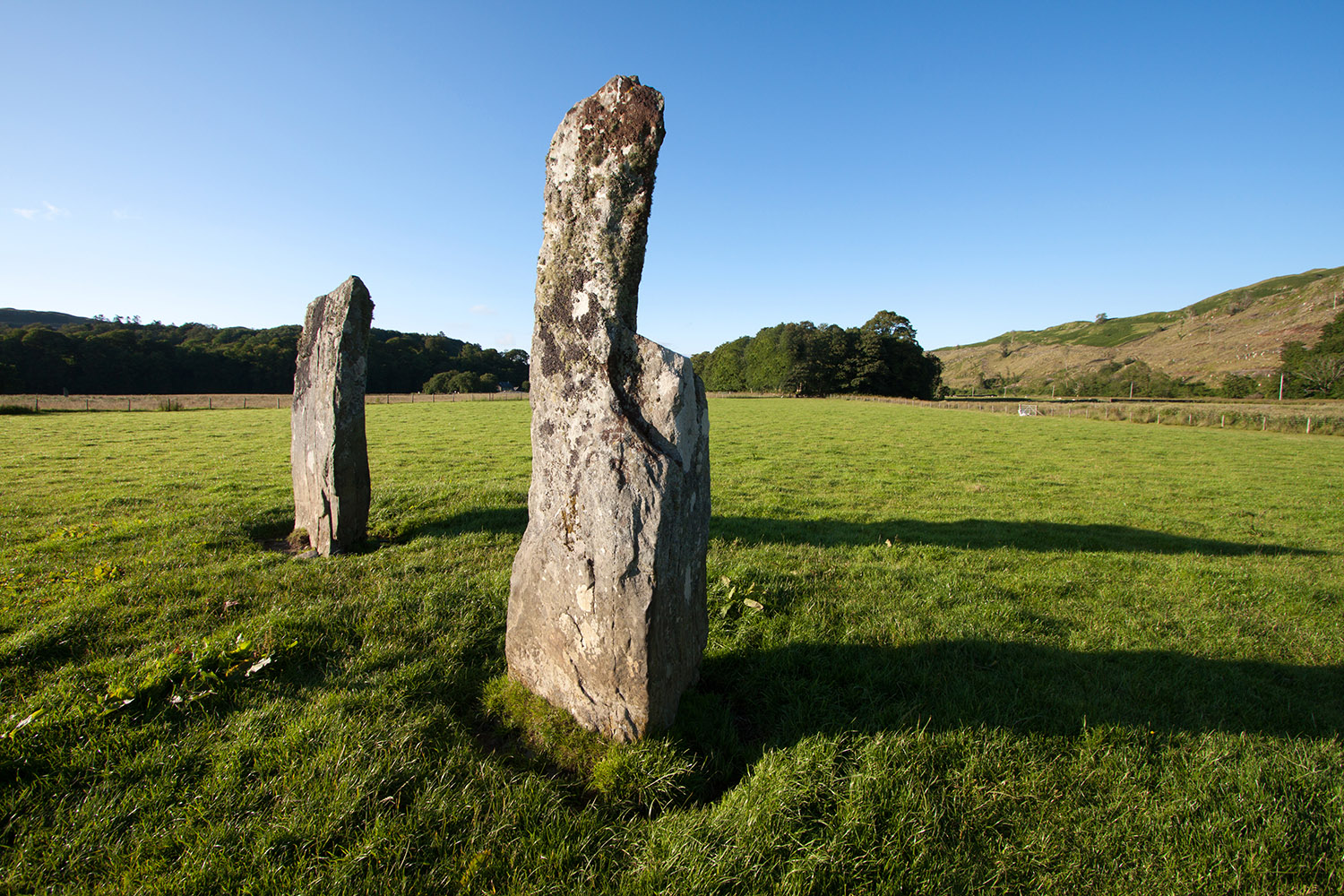 Kilmartin Glen Standing Stones in Argyle is featured in whisky tour of Scotland
