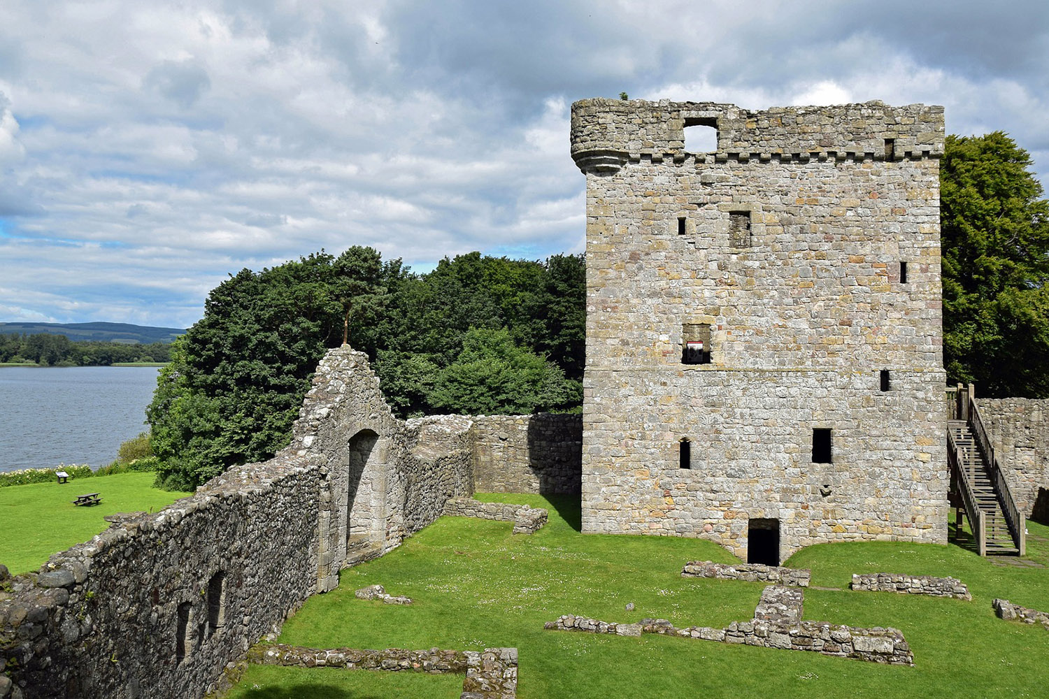 Loch Leven Castle, a highlight of our Mary Queen of Scots tour