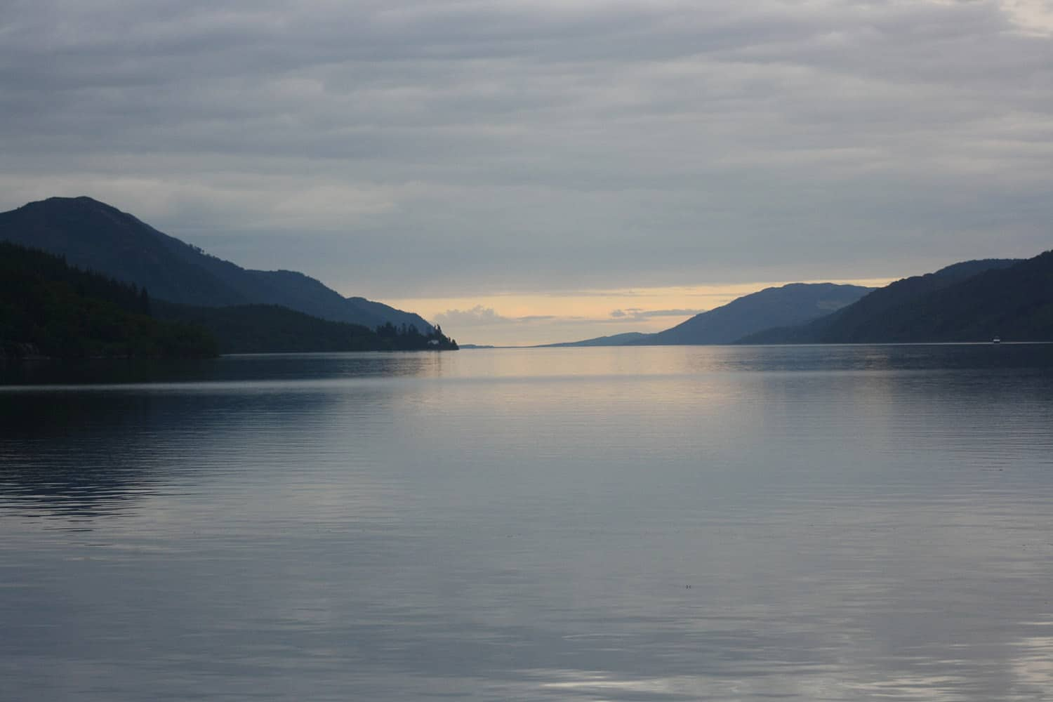 Loch Ness, home of the Nessie the Loch Ness Monster is a highlight of our Loch Ness Monster tour