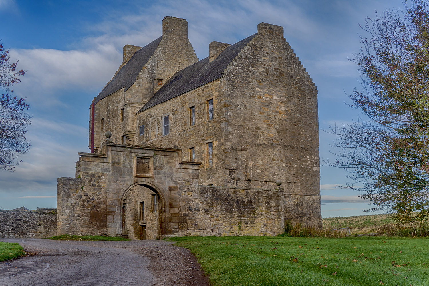Midhope Castle, a highlight of our Outlander Adventure tour