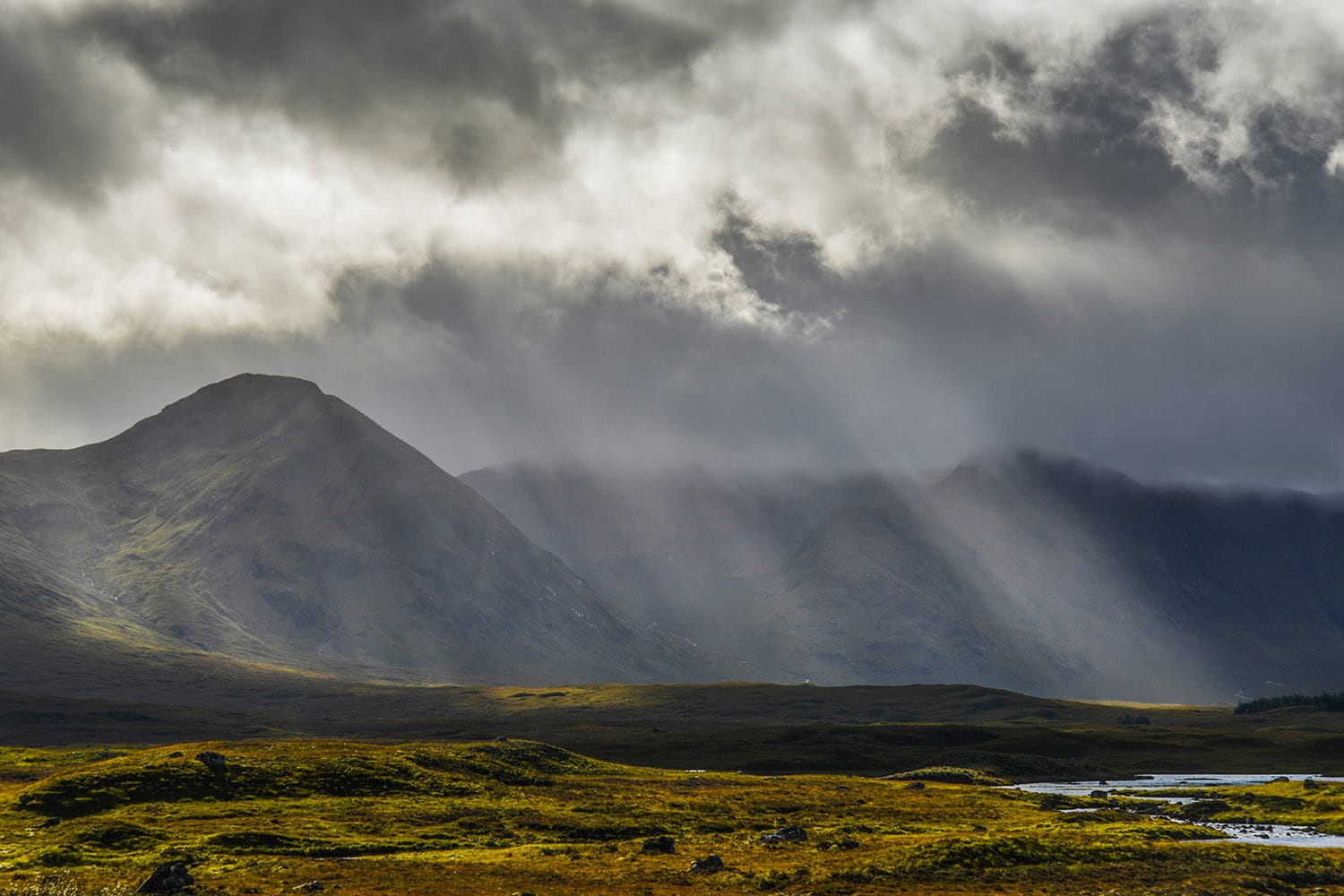A stunning photograph of Rannoch Moor which can be visited on a private tour of Scotland