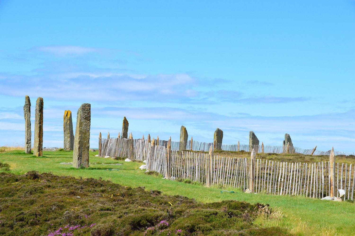 The Ring of Brodgar is visited during our prehistoric tour of Scotland