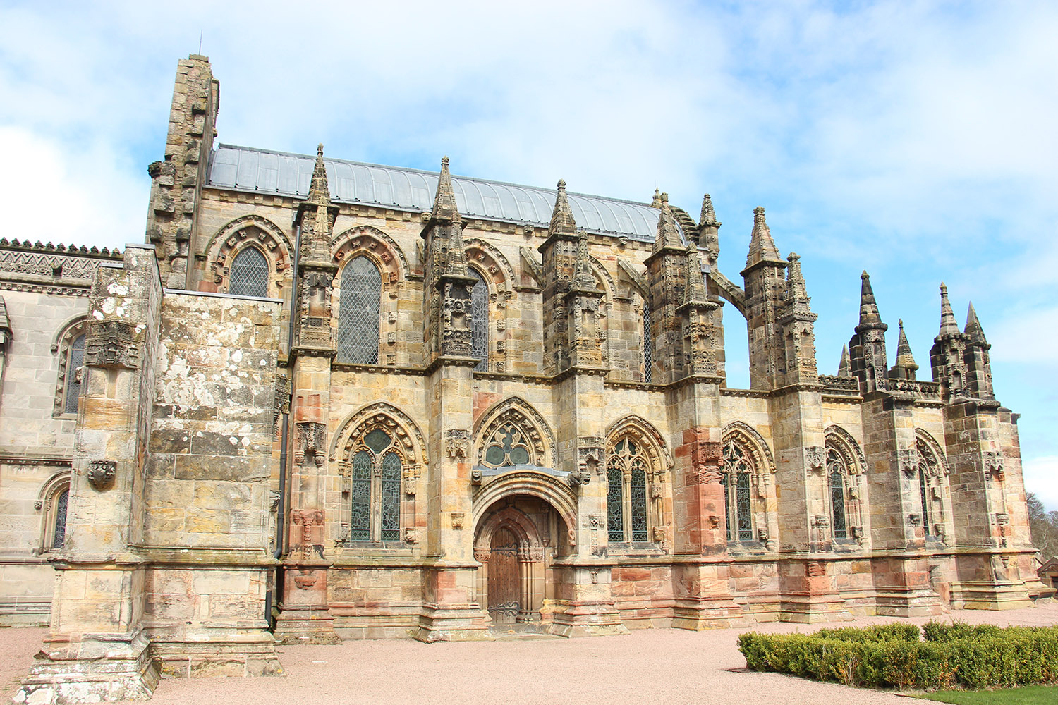 Rosslyn Chapel is a 15th Century chapel and can be visited on our private tours of Scotland