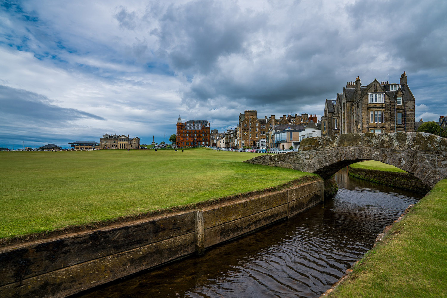 St Andrews Village is part of our royal and ancient tour of Scotland