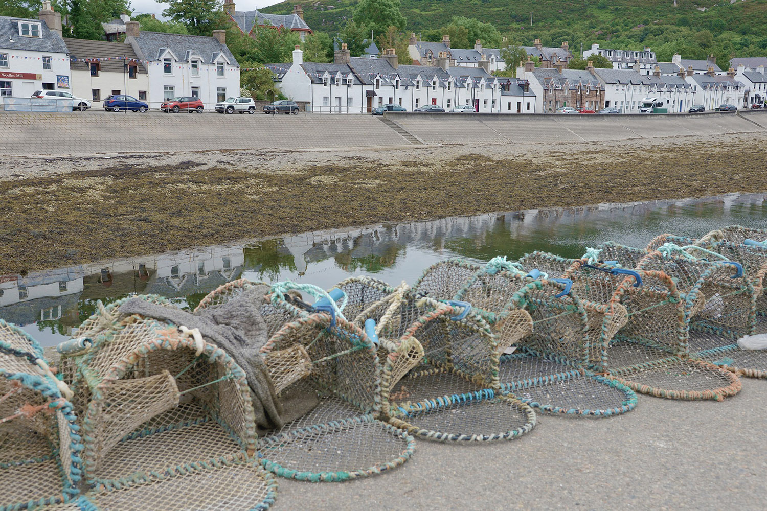 Ullapool is scenic village and is part of our prehistoric tour of Scotland